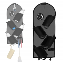 The Shower Surfer Shower & Bath Caddy - Charcoal