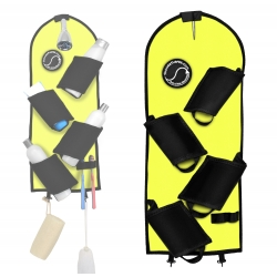 The Shower Surfer Shower & Bath Caddy (Neon Yellow)